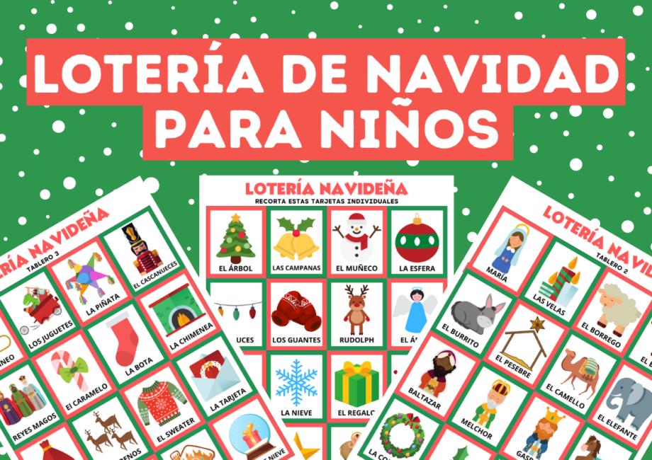 Loretería de Navidad para niños